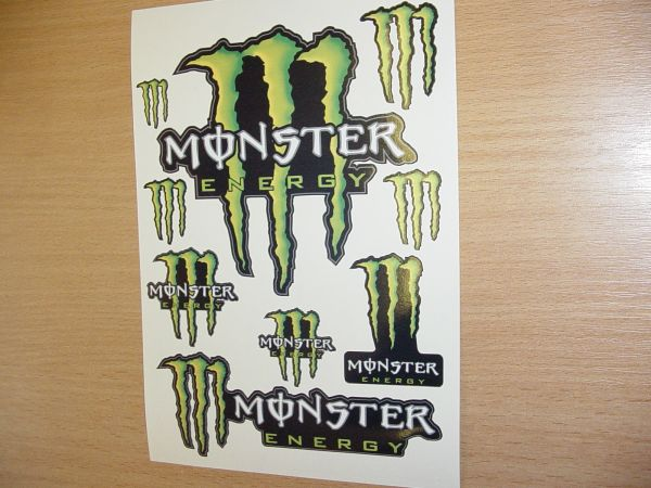Monster Energy  (A5)-formát